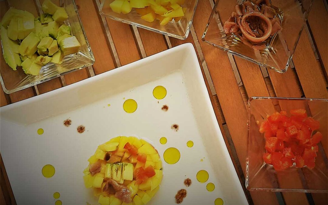 Receta fácil de Ajoblanco con Mango y AOVE Solive Natural Food
